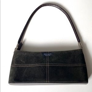 Kate Spade purse Mini brown suede